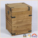 Circuito di collegamento di legno del tavolino da salotto e di Nightstand o di memoria o cassa di legno