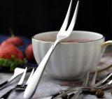 Вилка плодоовощ вилки плодоовощ нержавеющей стали качества еды установленная
