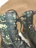 Gaine unique en nylon en caoutchouc de déplacement de chaussures de sports de désert de formation extérieure tactique militaire de Vieux-Mode