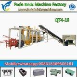 Bloco de cimento automático da tecnologia de Alemanha que faz a máquina de China