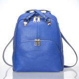 zaino operato delle donne di cuoio dell'unità di elaborazione di alta qualità del sacchetto dell'adolescente di modo