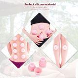 Conjunto de ahuecamiento del silicón para la terapia china del ahuecamiento y del masaje