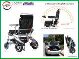 Peso leve da alta qualidade que dobra a cadeira de rodas da energia eléctrica com o Ce aprovado