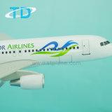 1: 200 modelo del juguete de la resina del aeroplano modelo A320 de escala
