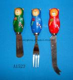 Сыр рождества декоративные/распространитель масла с ручкой смолаы
