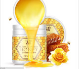 Lait crème de miel de Bioaqua de cire de main de miel de masque de main hydratant blanchissant le masque de main