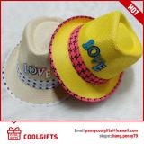 Novo chapéu de palha de lazer brilhante com estrela para presente de festival (CG206)