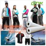 Papel pegajoso 105GSM do Sublimation da tintura para Jersey/Sportswear