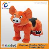 Езда малышей Wangdong животная на игрушках для близнецов