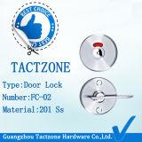A boa divisória ordinária de venda do toalete parte o fechamento de porta do aço inoxidável