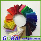 Acryl-Blatt der UVlicht-Widerstand-Farben-3mm für das Bekanntmachen des Zeichens