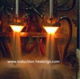 Equipo del endurecimiento de inducción eléctrica de dos estaciones para el eje