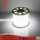 Tira morna SMD 5050 2835 Ce&RoHS da luz do diodo emissor de luz do cobre do cabo flexível do PVC do RGB do branco do IP 44