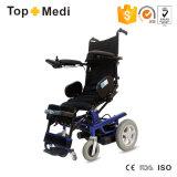 전기 서 있는 힘 휠체어를 서 있어 불리한 연장자