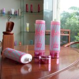 Pink Body Plastic Packaging Oval Tube