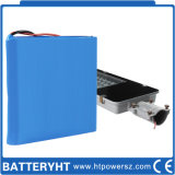 bateria de lítio solar do sistema da luz de rua de 60ah 22V