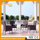 Outdoor Garden Patio Dining Furniture Hand-Woven Rattan / Wicker Chair and Table Set