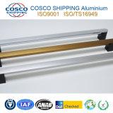 솔질한 지상을%s 가진 알루미늄 알루미늄 밀어남 손잡이는 & 다채로운 양극 처리한다 (ISO9001: 증명서를 주는 2008년 & RoHS)