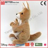Jouet de kangourou animal peluche de haute qualité