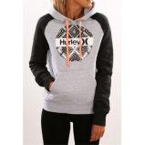 2016 autunno e maglione incappucciato stampato progettato di inverno nuovo con la casella (80022)