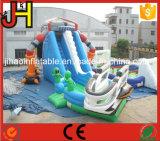 子供のためのプールが付いている巨大な外国の膨脹可能な水スライド