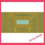 Interruptor de membrana gráfico do conetor de Keyswitch da folha de prova dos teclados de controle remoto de IPTV