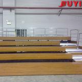 O anfiteatro telescópico Tip-up do VIP da alta qualidade portátil de madeira preside o Bleacher do metal