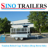 Heavy Duty Drop Side Cargo Trailer