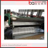 Aço de Baoshi 11 pés de folha ondulada da telhadura do revestimento de zinco
