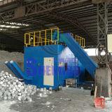 Particules en aluminium automatiques horizontales Briquetting la machine