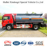 camion-citerne aspirateur d'acide chlorhydrique de l'euro 5 de 9cbm FAW avec le moteur diesel de Deutz
