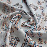 Polyester/de Spandex Afgedrukte Stof van de Jacquard voor Kleding