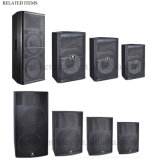 "1000W 2 * 15 ""Quase 0 Distortion High End Speaker (JS-725)"