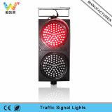 Impermeabilizzare il semaforo solare giallo rosso del segnale d'allarme di 300mm