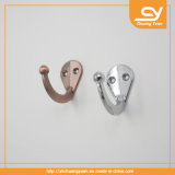 Hardware sanitario de las mercancías de los accesorios del cuarto de baño del tornillo del gancho de leva de la capa del traje del metal