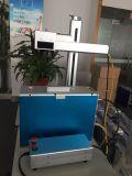 Máquina de escritorio de la marca del laser de la fibra para el acero de Stainess
