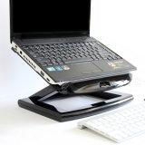 Faltbarer Laptop-Standplatz für Notizbuch-beweglichen Halter des Zoll-10-17 mit Ventilator