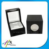 Laca brillante de madera personalizado único reloj caja de embalaje
