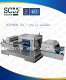 Máquina de carimbo de pano/almofada de tabela dos materiais da impressão de cor