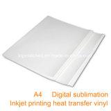 A4 100GSM Fer-sur le papier de transfert thermique d'encre de sublimation de papier de transfert pour l'imprimante à jet d'encre