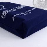 Qualitäts-Schulter-dunkelblaue Segeltuch-Einkaufstasche für das Bekanntmachen