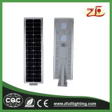 40W Ce, luz de rua solar personalizada certificado do diodo emissor de luz de RoHS