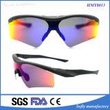 Esportes UV da proteção do tipo feito sob encomenda o mais novo do projeto que competem óculos de sol