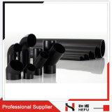 Conduite D'eau en Plastique de HDPE de PE de Rebut Noir