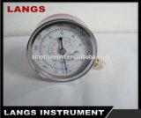 De Chroom Geplateerde Maat van de Druk van Freon 011 & Manometer