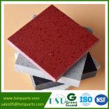 Quartzo de pedra vermelho da faísca para a cozinha e a telha do banheiro