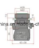 Anerkannter Drucktastenschalter der Keilnute-Marken-Ce/CB