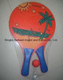 Tennis di legno della racchetta della spiaggia per giocare