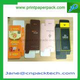 Het douane Afgedrukte Vakje van de Gift van het Document van het Parfum Kosmetische Verpakkende