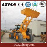 Manche chinês da alta qualidade carregador da roda de 6 toneladas com condicionador de ar